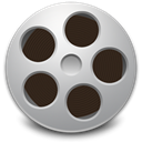 videos, toolbar Black icon
