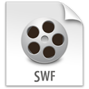 File, swf, z Gainsboro icon