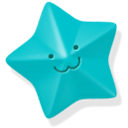 star, Blue DarkTurquoise icon