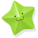 star, green YellowGreen icon