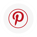 round, Logo, pinterest WhiteSmoke icon