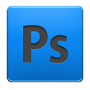 adobe, photoshop DodgerBlue icon