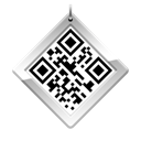 qr, Android, Code, base Black icon