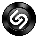 Shazam, base Black icon