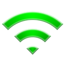 base, wi, Fi Black icon