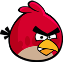 red bird, Angry birds Crimson icon