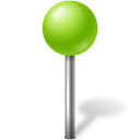 marker, ose, base, chartreuse, Map, Ball Black icon