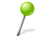 Tv, right, chartreuse, Ball, base, marker, Map Black icon