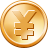 base, dough, dollars, Money, Currency, piece, piece of money, ducat, Cash, coin, shiner, freeicons, yen SandyBrown icon