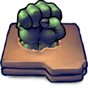 hulk, Desktop, ui, metaphor!!, Antiquated, smash DimGray icon