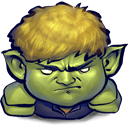 Hulkling DarkKhaki icon