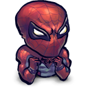vilains!, Spidey, stand, Cant Black icon