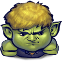 sulking, Hulkling DarkKhaki icon