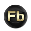 Flashbuilder Black icon