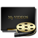 Myvideos DarkSlateGray icon