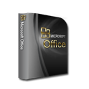 Microsoftoffice Black icon