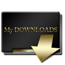 Mydownloads DarkSlateGray icon