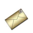 mail Black icon
