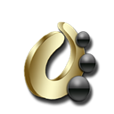 Objectdock Black icon