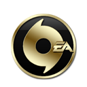 Ea, origin Black icon