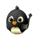 Pidgin Black icon