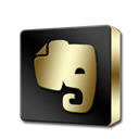 Evernote Black icon