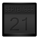 Calender DarkSlateGray icon