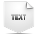 Clipping, Text Gainsboro icon