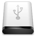 Usb, drive WhiteSmoke icon