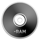 Dvd, ram DarkSlateGray icon