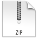Zip, z, File WhiteSmoke icon