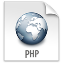 File, z, Php Gainsboro icon