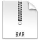 z, File, Rar WhiteSmoke icon