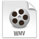 z, File, Wmv Gainsboro icon
