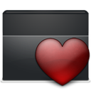 Folder, Favorites DarkSlateGray icon