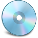Disk SkyBlue icon