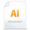 illustrator WhiteSmoke icon