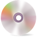 Blank, Cd, Content Silver icon