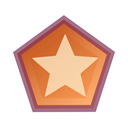 Polygon, Draw, star Black icon