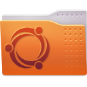 Folder, publicshare Chocolate icon