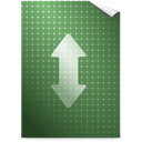 Gnome, Bittorrent, mime DarkOliveGreen icon