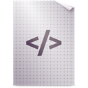Text, mime, Gnome LightGray icon
