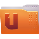 Folder, ubuntuone Chocolate icon