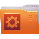 Folder, Aptana Chocolate icon