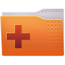 new, Folder Chocolate icon