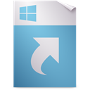 shortcut, Ms, Application CadetBlue icon
