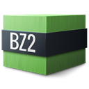 bzip Black icon
