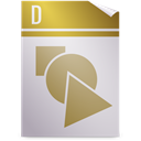 Opendocument graphics DarkKhaki icon