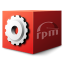 mime, Rpm, Gnome, Application Maroon icon