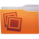 Folder, images Chocolate icon